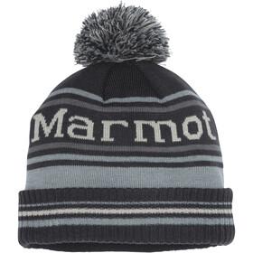 Marmot Retro Gorro Pompón, dark steel/grey storm
